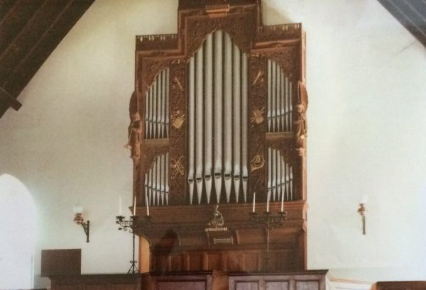 St Colmon Church Organ